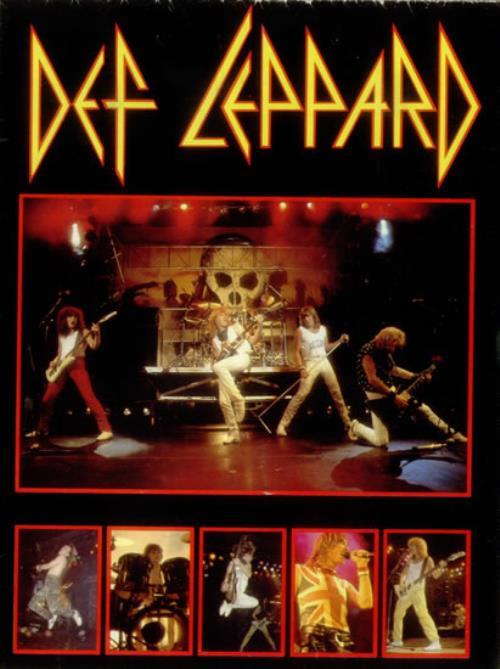 DEF LEPPARD 1980/'S ENGLISH ROCK BAND VINTAGE POSTER GARAGE CNG1417