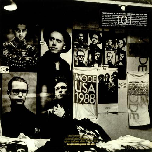 Depeche Mode 101 USA Vinyl LP Record 25853-1 101 Depeche Mode 075992585316 441283