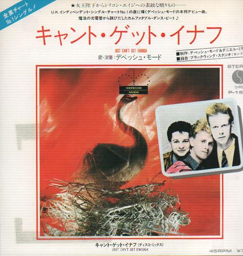 Depeche Mode Just Cant Get Enough No Tengo Bastante