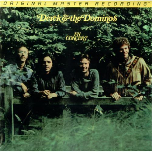 Derek And The Dominos In Concert Usa Double Vinyl Lp Mfsl2