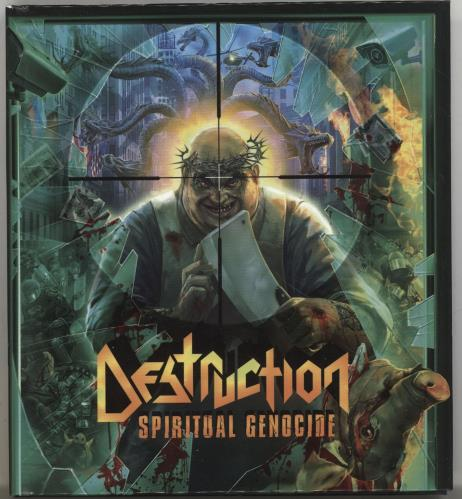 Spiritual genocide by Destruction, CD with ledotakas - Ref:118598608