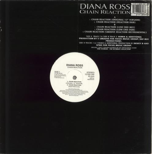 ROSS, DIANA - Chain Reaction - 12 inch 33 rpm