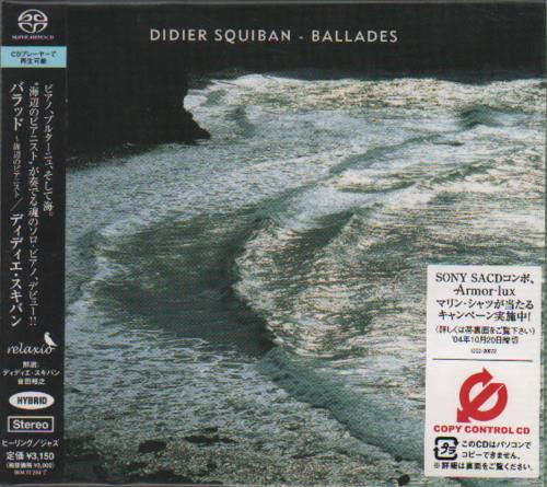 SQUIBAN, DIDIER - Ballade - CD