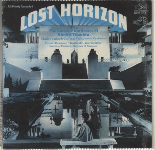 TIOMKIN, DIMITRI - Lost Horizon - The Classic Film Scores Of Dimitri Tiomkin - 12 inch 33 rpm