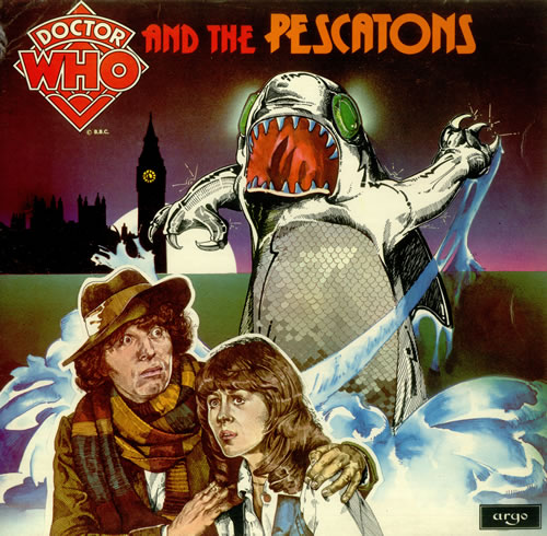 DOCTOR WHO - Doctor Who And The Pescatons - Maxi 33T
