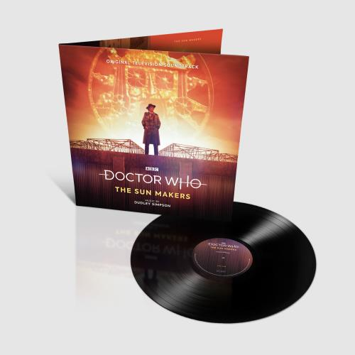 DOCTOR WHO - The Sun Makers - Maxi 33T