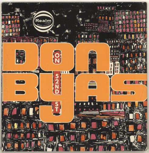 BYAS, DON - On 52nd Street - 12 inch 33 rpm