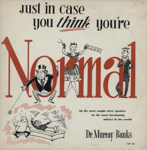BANKS, DR. MURRAY - Just In Case You  u Think /u  You're Normal - Maxi 33T