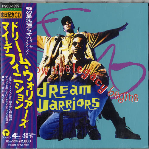 DREAM WARRIORS - And Now The Legacy Begins - CD