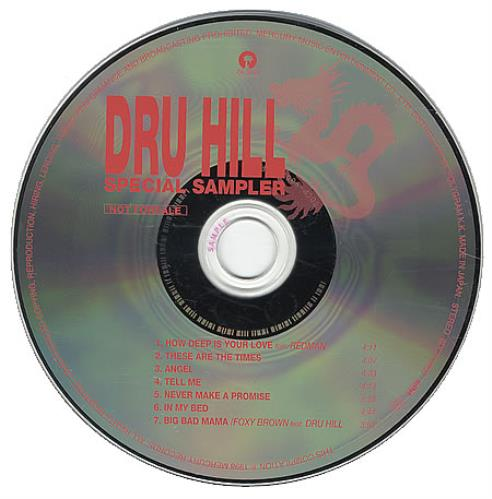 DRU HILL - Special Sampler - CD
