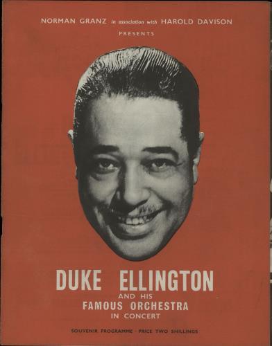 ELLINGTON, DUKE - Duke Ellington And His Famous Orchestra In Concert - Autres