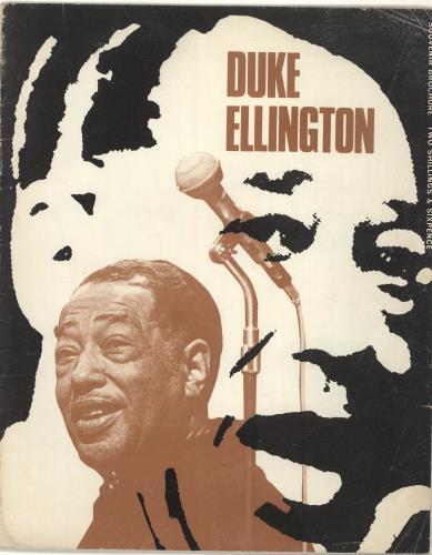 ELLINGTON, DUKE - Duke Ellington Souvenir Brochure - Autres