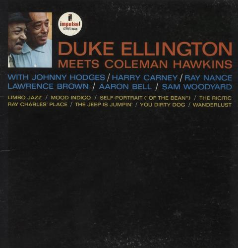 ELLINGTON, DUKE - Meets Coleman Hawkins - 12 inch 33 rpm