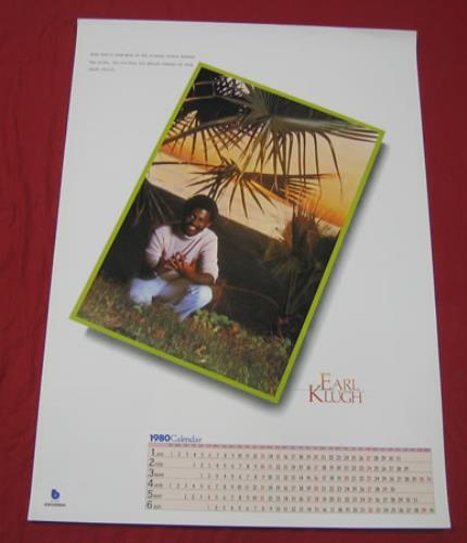 KLUGH, EARL - Earl Klugh Calendar Poster - Poster / Display