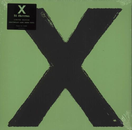 Ed Sheeran X Vinyl Records Lp Cd On Cdandlp