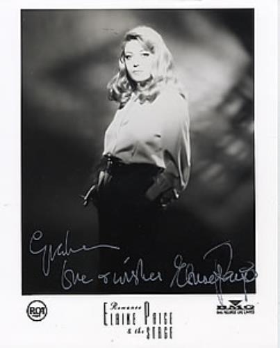 PAIGE, ELAINE - Autographed Publicity Photograph - Others