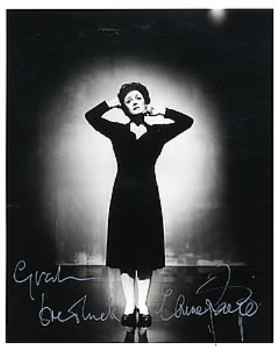 PAIGE, ELAINE - Signed Photo - Others