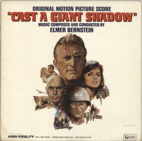 BERNSTEIN, ELMER - Cast A Giant Shadow - 12 inch 33 rpm