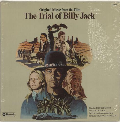 BERNSTEIN, ELMER - Original Music From The Film The Trial Of Billy Jack - Maxi 33T