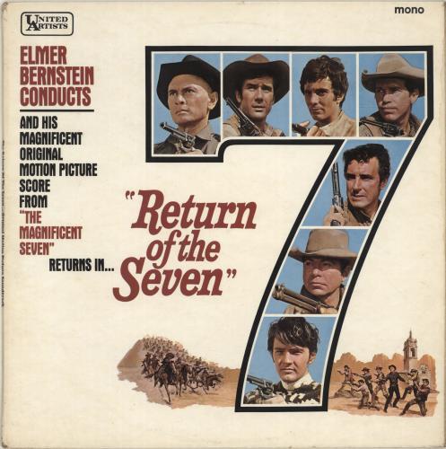BERNSTEIN, ELMER - Return Of The Seven - Maxi 33T