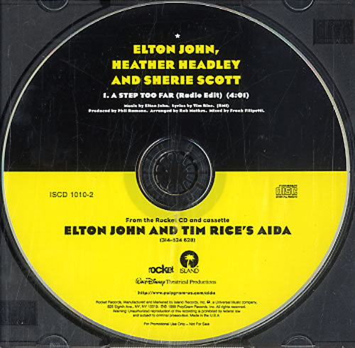 John, Elton A Step Too Far