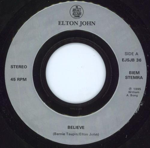 John, Elton Believe