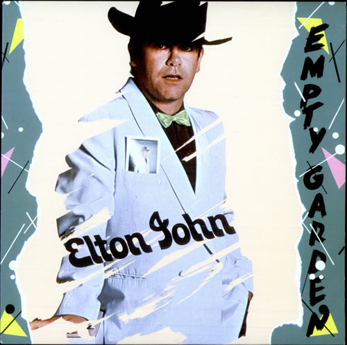 Elton John Empty Garden Brazil Promo 7 Vinyl Record