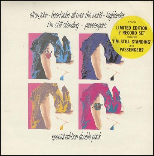 John, Elton Heartache All Over The World - Double Pack