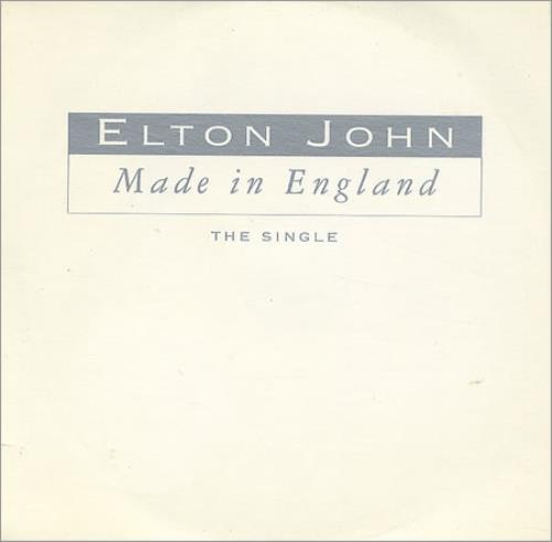 John, Elton Made In England