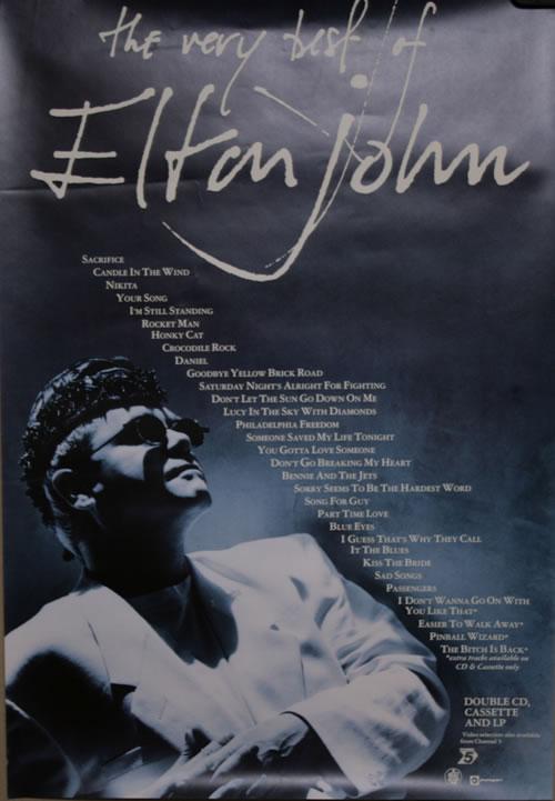 Elton John The Very Best Of Elton John Vinyl Records Lp