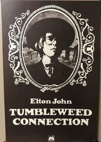 John, Elton Tumbleweed Connection Lithograph