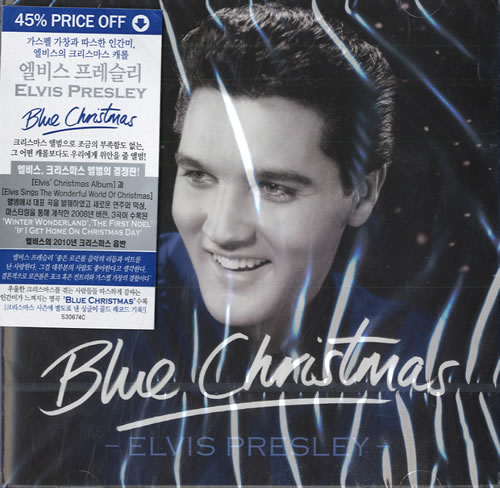 price info - Blue Christmas By Elvis Presley