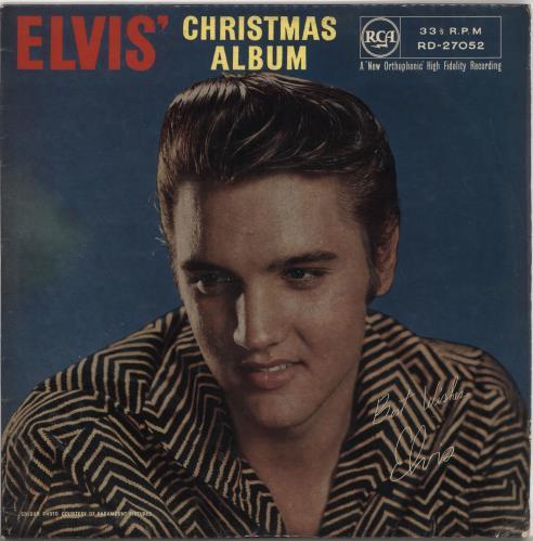 Elvis Christmas Album Vinyl.Elvis Presley Elvis Christmas Album 2nd Ex Uk Vinyl Lp