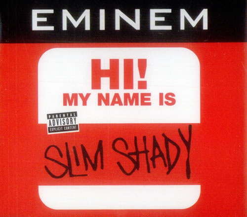 my name is by eminem cd with eilcom ref 3088479418