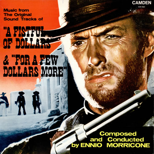 MORRICONE, ENNIO - A Fistful Of Dollars / For A Few Dollars More - 12 inch 33 rpm