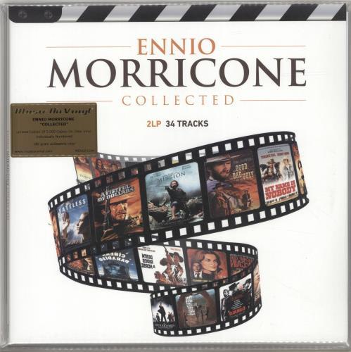 MORRICONE, ENNIO - Collected - 180gram Clear Vinyl - Sealed - Maxi 33T