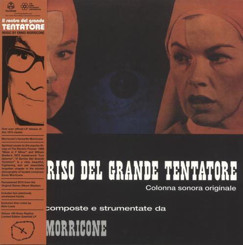MORRICONE, ENNIO - Il Sorriso Del Grande Tentatore - Maxi 33T