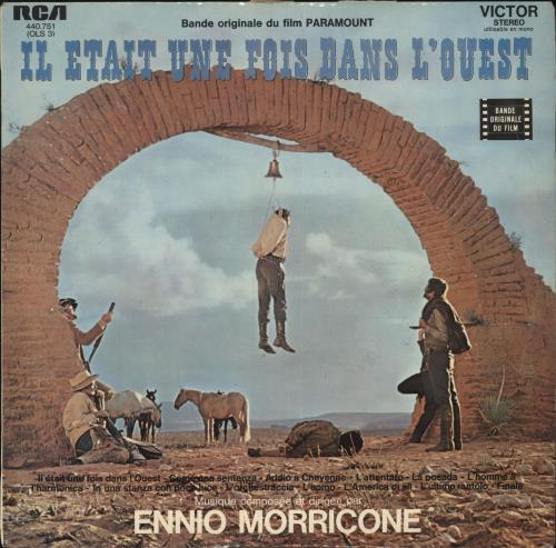 MORRICONE, ENNIO - Il Était Une Fois Dans L'Ouest - Maxi 33T