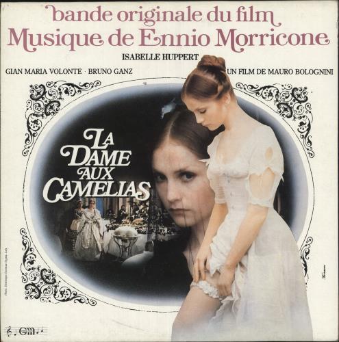 MORRICONE, ENNIO - La Dame Aux Camelias - Maxi 33T