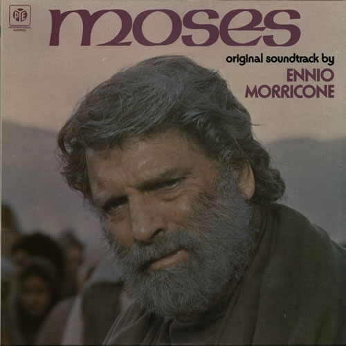 MORRICONE, ENNIO - Moses - Maxi 33T
