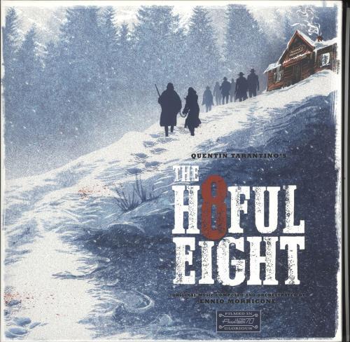 MORRICONE, ENNIO - Quentin Tarantino's The H8ful Eight - Maxi 33T