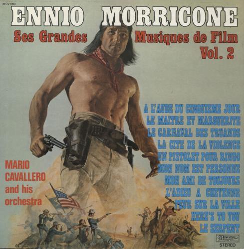 MORRICONE, ENNIO - Ses Grandes Musiques De Film Vol. 2 - Maxi 33T