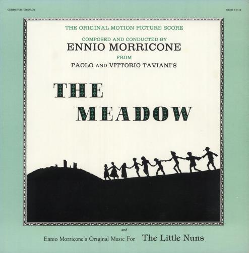 MORRICONE, ENNIO - The Meadow/ The Little Nuns - Maxi 33T