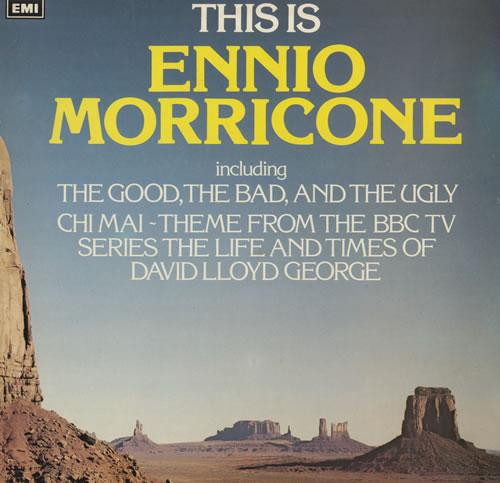 MORRICONE, ENNIO - This Is Ennio Morricone - 12 inch 33 rpm