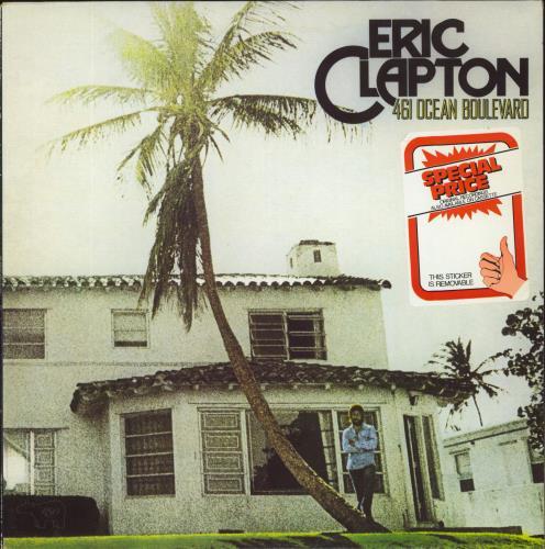 Eric Clapton 461 Ocean Boulevard Uk Vinyl Lp Record