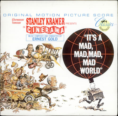 GOLD, ERNEST - It's A Mad, Mad, Mad, Mad World - 12 inch 33 rpm