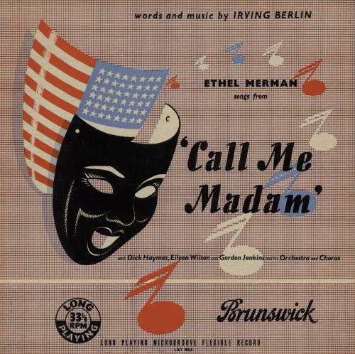 MERMAN, ETHEL - Call Me Madam - Maxi 33T