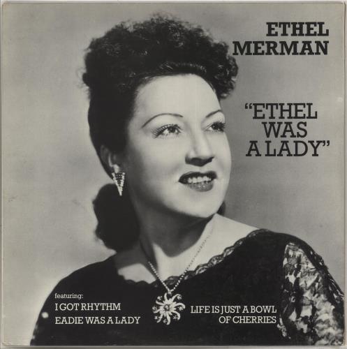 MERMAN, ETHEL - Ethel Was A Lady - Maxi 33T