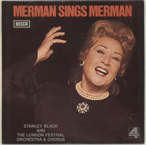 MERMAN, ETHEL - Merman Sings Merman - Maxi 33T