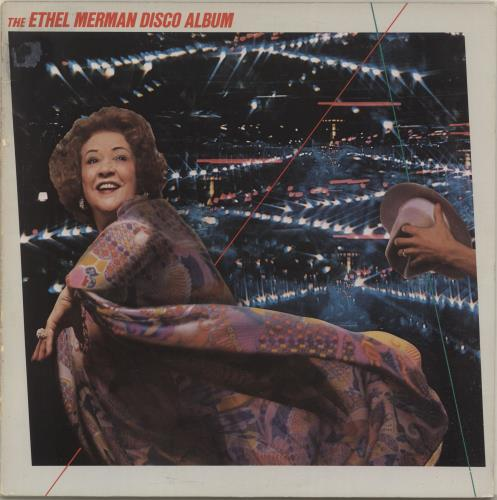 MERMAN, ETHEL - The Ethel Merman Disco Album - VG/EX - Maxi 33T